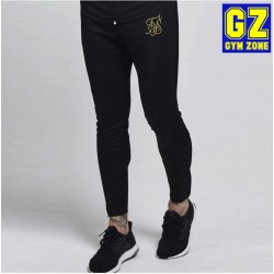 Siksilk Zonal Track Pants – Black & Gold