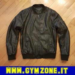 Jacket mod. Bomber ecopelle BRIAN COOL MILANO