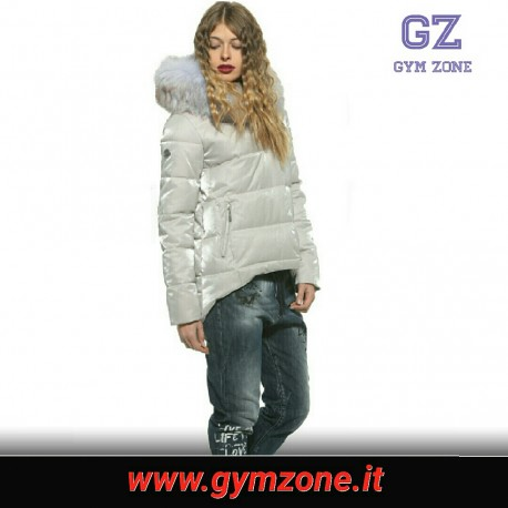 NZN NOZONE Woman Jacket con pelliccia