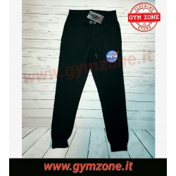 NASA pantalone  SS 19 slash for NASA nero