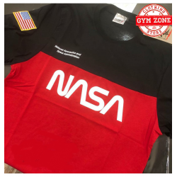 NASA t-shirt SS 19 slash for NASA girocollo red black