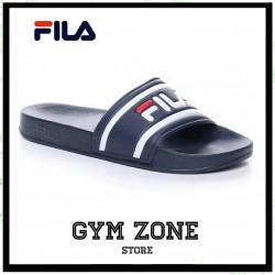 FILA ciabatte blue logo morro bay slipper 2.0 black