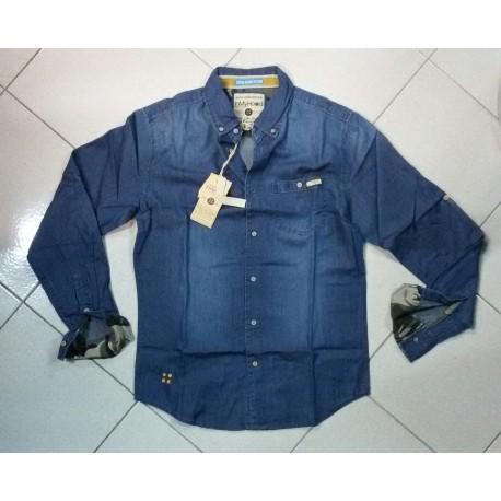 camicia denim blue INMYHOOD